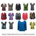 Fifty Pack Georgette Mini Pleats Shirts and Skirts Assortment (See RM)