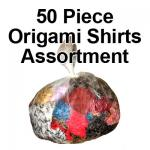 Fifty Pack Origami Shirts Assortments (See RM)
