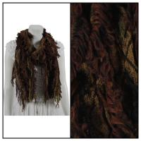 Scarves - Loose Loop - Brown