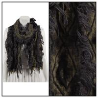 Scarves - Loose Loop - Black