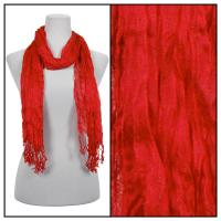 Scarves - Crinkle 3081 - Red
