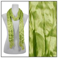 Scarves - Crinkle 3081 - Green Apple