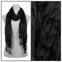 Scarves - Crinkle 3081 - Black
