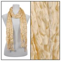 Scarves - Crinkle 3081 - Gold