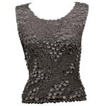 Pinpoint Coin - Sleeveless - Charcoal