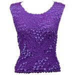 Pinpoint Coin - Sleeveless - Purple