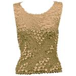 Pinpoint Coin - Sleeveless - Champagne