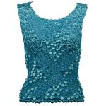 Pinpoint Coin - Sleeveless - Teal