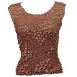 Pinpoint Coin - Sleeveless - Chocolate