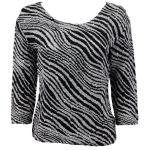 Magic Crush Silky Touch Three Quarter - Zebra Stripe