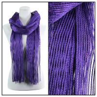 Scarves - Metallic 3117 - Purple
