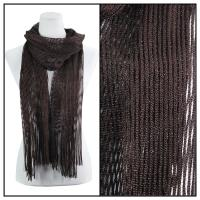 Scarves - Metallic 3117 - Brown