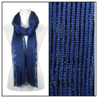 Scarves - Metallic 3117 - Navy