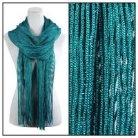 Scarves - Metallic 3117 - Teal Green