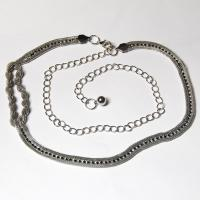 Belts - Metal and Chain - 7102 - Silver