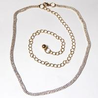 Belts - Metal and Chain - 7116 - Gold