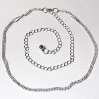 Belts - Metal and Chain - 7116 - Silver