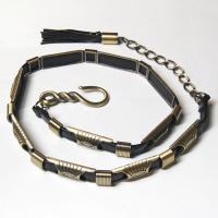 Belts - Metal and Chain - 9048 - Black