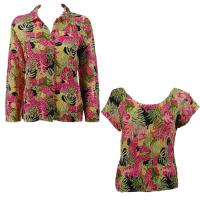 Twin Sets Silky Touch - Blouse / Cap Sleeve - Tropical Heat
