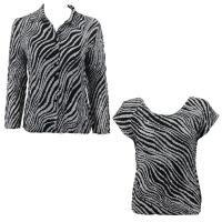 Twin Sets Silky Touch - Blouse / Cap Sleeve - Zebra