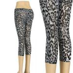 Cheetah Capri - Black