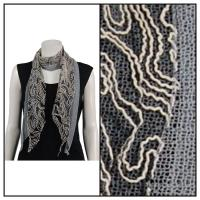 Scarves - Yarn Stitch 1051 - Grey
