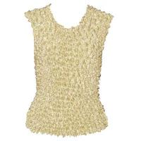 Overstock Tops - Gourmet Popcorn Sleeveless - Buttermilk