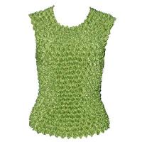 Overstock Tops - Gourmet Popcorn Sleeveless - Leaf Green
