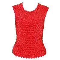 Overstock Tops - Gourmet Popcorn Sleeveless - Red