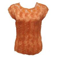 Overstock Tops - Crush Satin with Lace - Melon