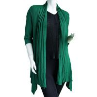 Magic Convertible Ribbed Sweater  - Green