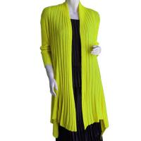 Magic Convertible Ribbed Sweater  - Green Apple