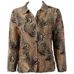Magic Crush Silky Touch Blouse - Swirl Animal