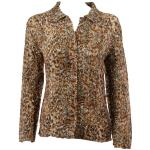 Magic Crush Silky Touch Blouse - Leopard