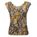 Magic Crush Silky Touch Cap Sleeve - Safari Gold
