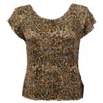 Magic Crush Silky Touch Cap Sleeve - Leopard