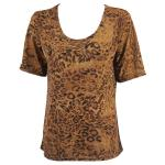 Magic Slinky Short Sleeve - Leopard Print