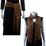 Magic Slinky Sash/Scarf - Leopard Print