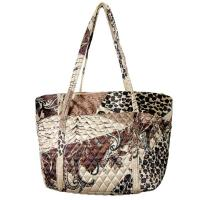 Quilted Bags - Small Tote - (Save for Fall)Patchwork Paisley Jungle