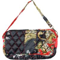 Quilted Bags - Wristlet - (Save for Fall)Red, Black, & Paisley
