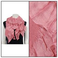 Scarves - Crinkle Gathered 1343 - Pink
