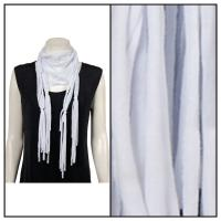 Scarves - String 1222 - White