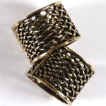 Scarf Rings - 01 Bronze (2 Pack)