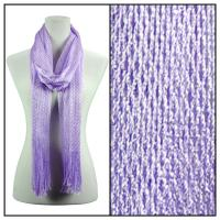 Scarves - Metallic Fishnet 3836 - Lilac