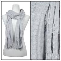 Scarves - Bohemian Knit Tubed 51679  - Grey