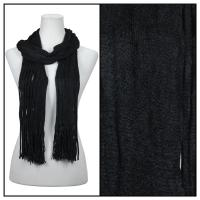 Scarves - Bohemian Knit Tubed 51679  - Black