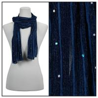 Scarves - Sequined 4118 - Blue