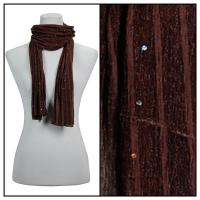 Scarves - Sequined 4118 - Brown