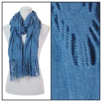 Scarves - Abstract Weave 4101 - Blue