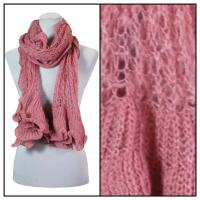 Scarves - Crochet Wave 4068 - Rose